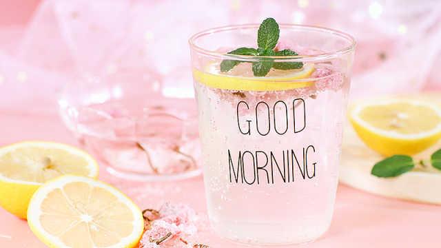 快手饮品,谁能拒绝粉色樱花气泡水
