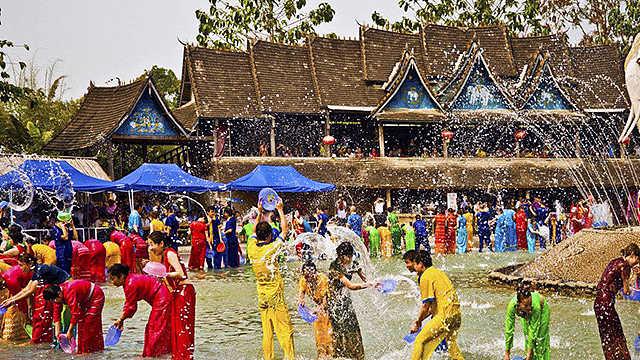 泼水节:傣族的文化魅力