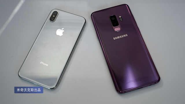 三星 S9+ 这次好像赢了iPhone X?