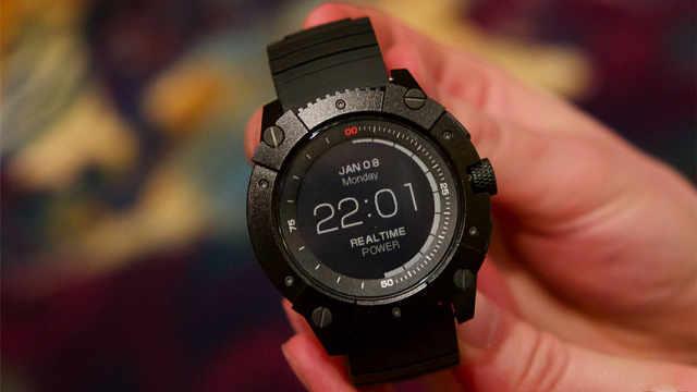 黑科技手表,能用体温来充电