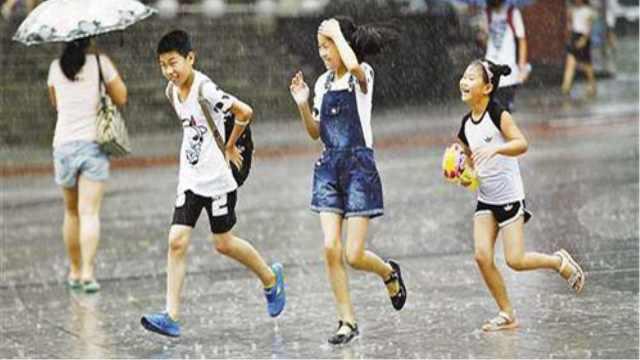 跑着真的会比走着淋更少的雨吗?