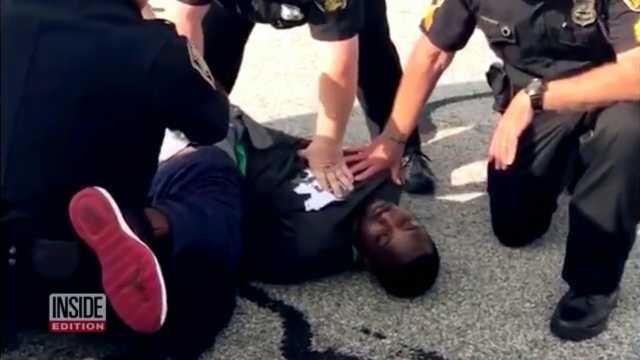 前NFL球员因恐吓被捕:我不能呼吸