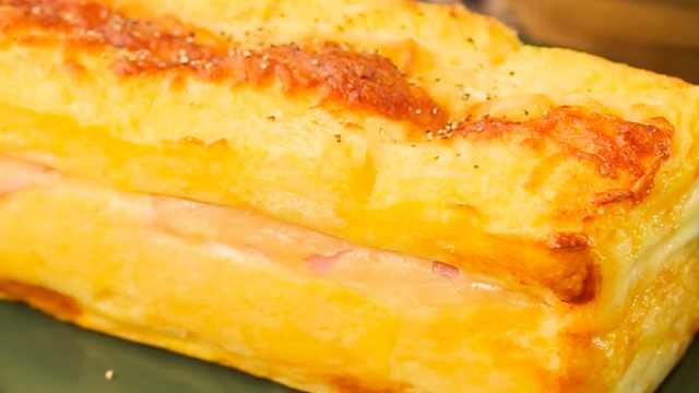 面包的豪华吃法!法式三明治的做法