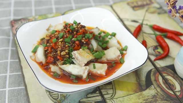超美味的川菜椒麻鱼,香气扑鼻