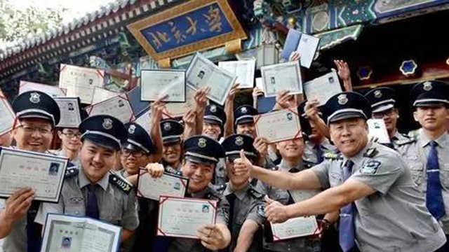 北京500名保安考上重点大学!