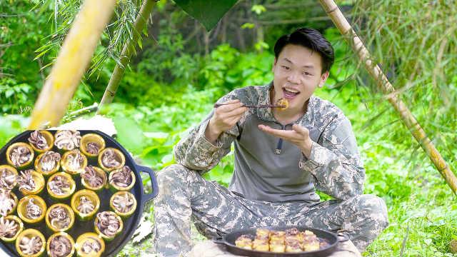 竹子味的章鱼小丸子?看饿了!