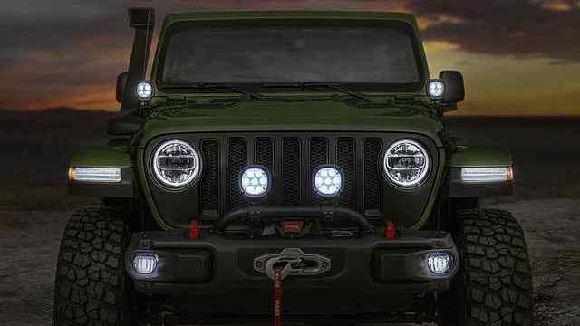 越野界标杆Jeep全新牧马人亮相!
