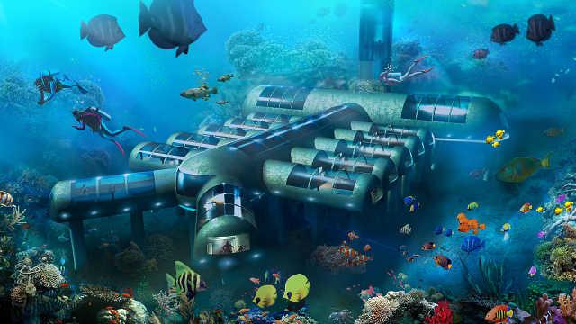 地球将不再适宜居住?可考虑海底!