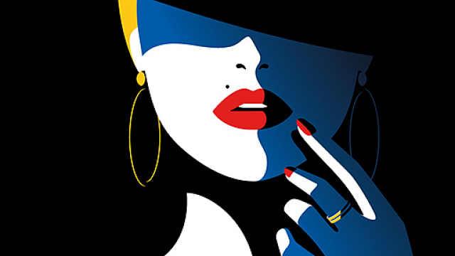 美女插画师笔下的女性有一万种色彩