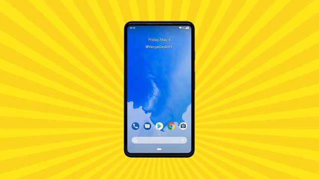 真全面屏手机Google Pixel 3曝光