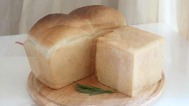自制早餐软面包