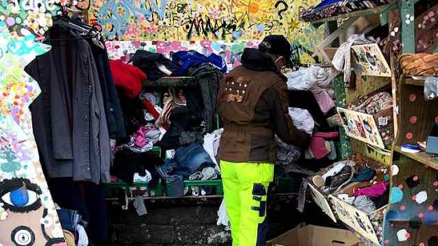 哥本哈根的贫民窟:随意穿废弃衣物
