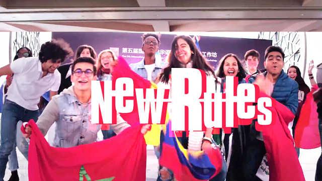 10国学生演绎MV!全程从头跳到尾