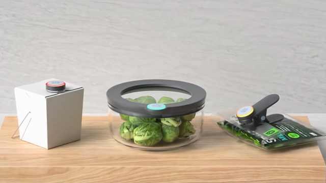 靠它提醒再也不会浪费冰箱里的食物
