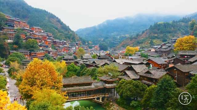 不同的四大最美村落有着同样的乡愁