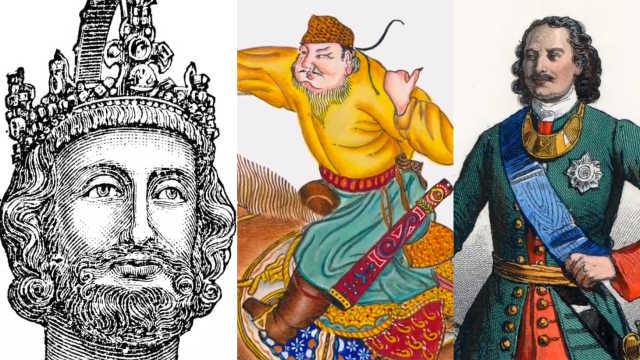 史上最著名的五大帝王,你认识几个?