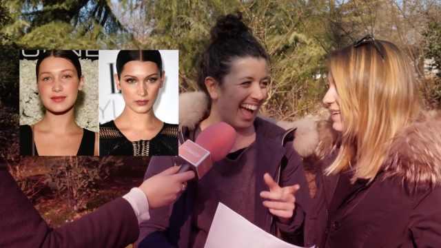 意大利街访:妹子们如何看待整容脸