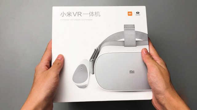 小米VR一体机开箱