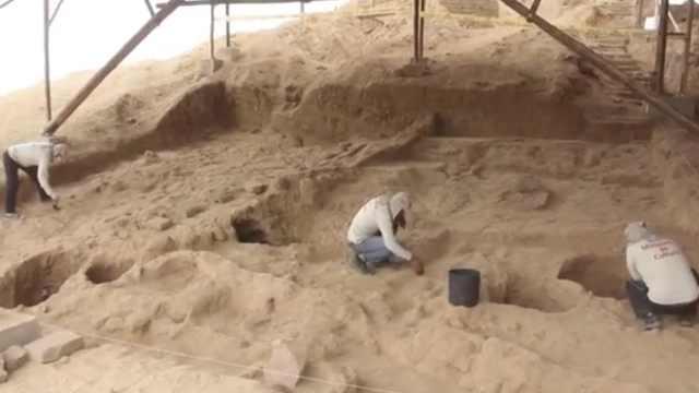 秘鲁北部惊现24个500年历史葬礼束