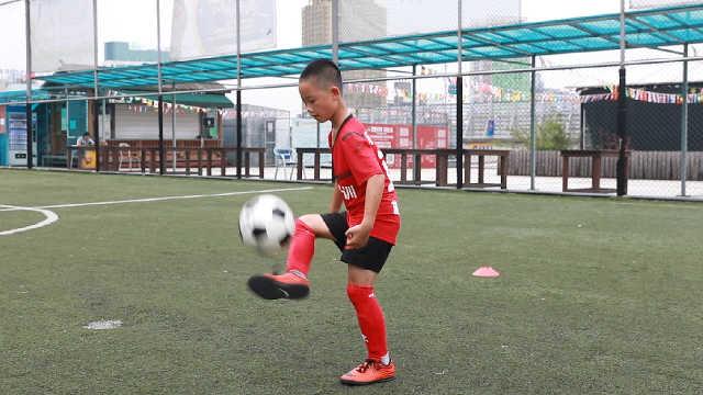 浙江10岁小梅西,获AC米兰邀请试训