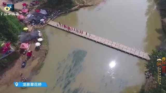叶县这座桥最近太火了!现场挤爆了