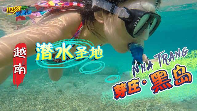 全亚洲清澈的海域,黑岛浮潜攻略!