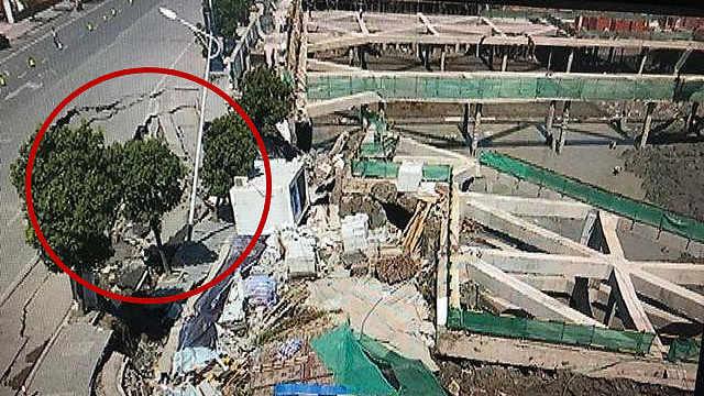 碧桂园出事了!杭州一项目坑基坍塌