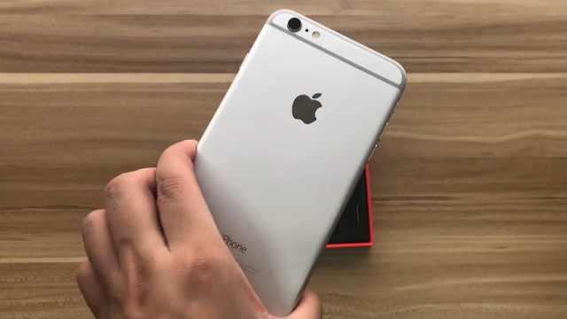 1299的iPhone6 Plus开箱