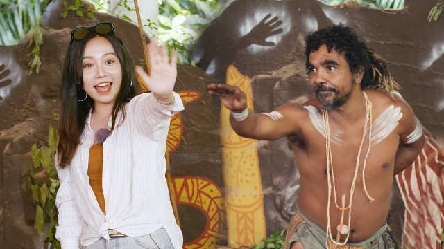 澳洲洗肺之旅!美女與雨林土著共舞