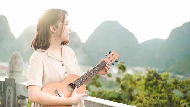 【香格里拉】充满爱的尤克里里弹唱
