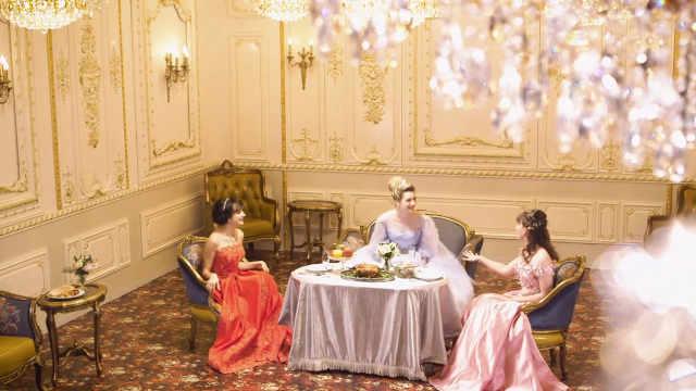 脑洞:当童话故事里的公主们面基后