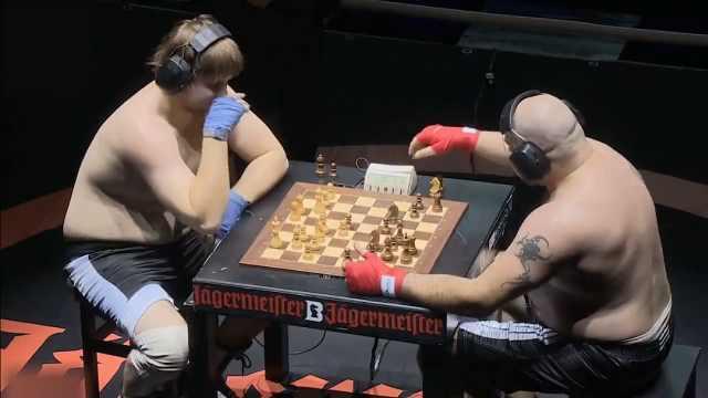 深井冰行为?#24080;酰?#25171;完拳击来下棋