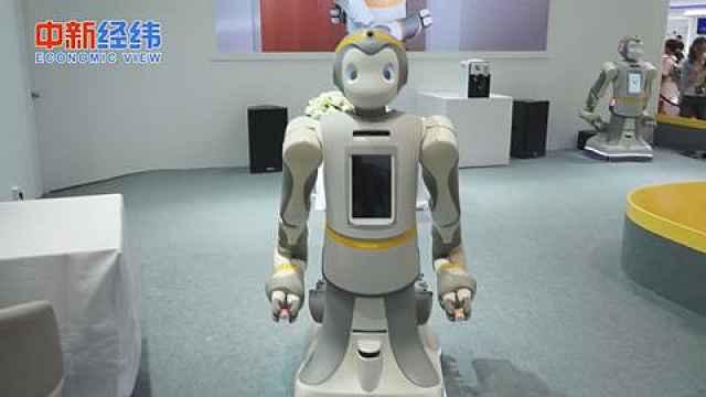 老年人陪护机器人了解一下