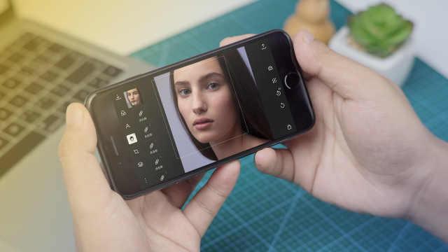手机处理人像照片的基本流程