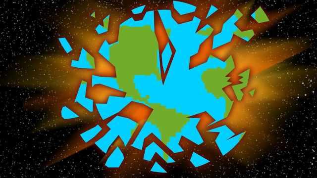 脑洞大开!假如地球爆炸会怎么样?