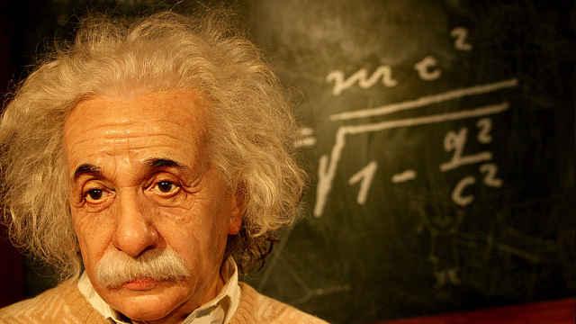 爱因斯坦历史上的地位