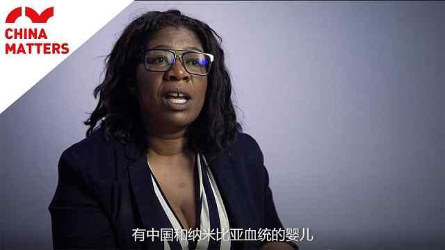 黑人大妈谈中非文化:我们会融合