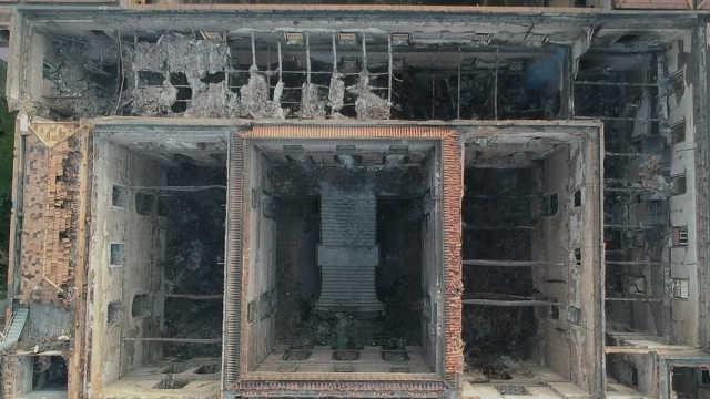 抗议者将巴西博物馆火灾归咎于腐败