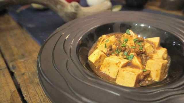 一道麻婆豆腐,鲜、香、麻、辣