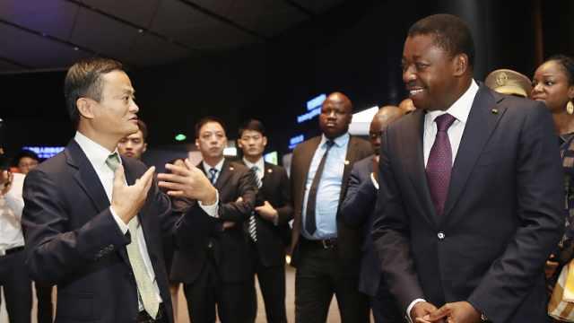 5位非洲总统点名见马云