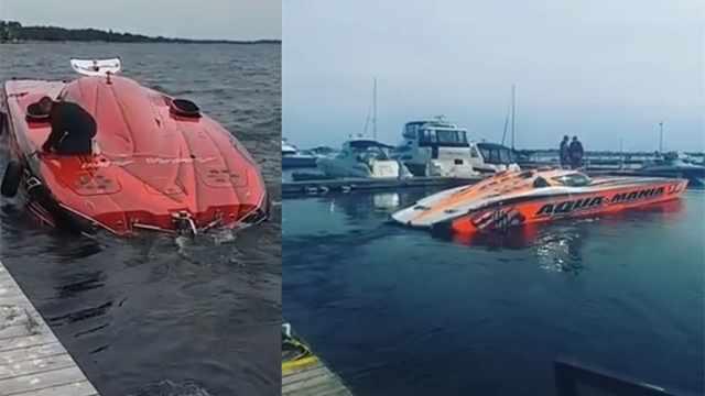 水上的飞行跑车,超跑游艇酷炫亮相