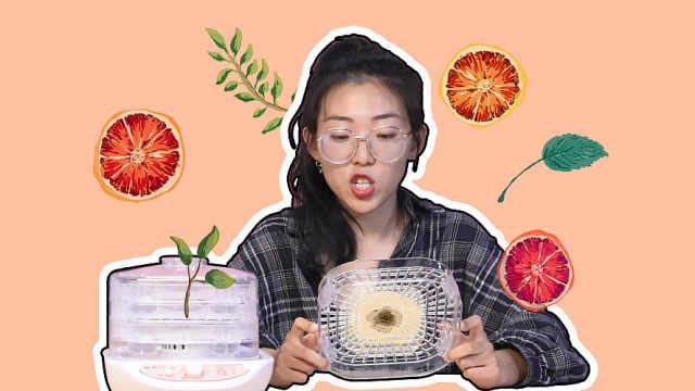 自制果干神器,在家就可DIY果蔬干