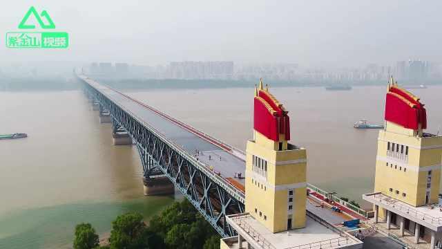 南京长江大桥最新私照曝光!