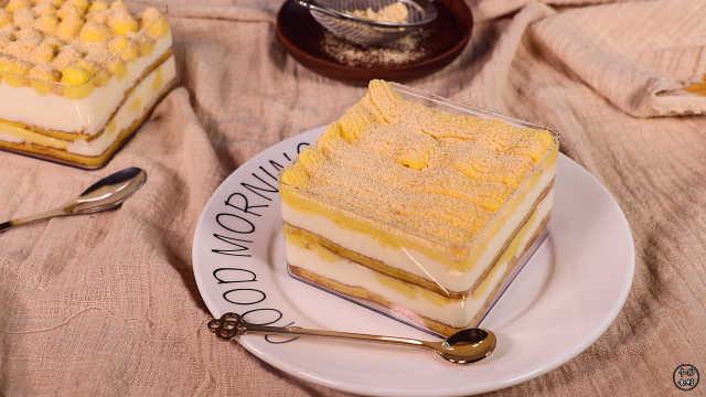 豆乳盒子,豆浆做的蛋糕,甜而不腻