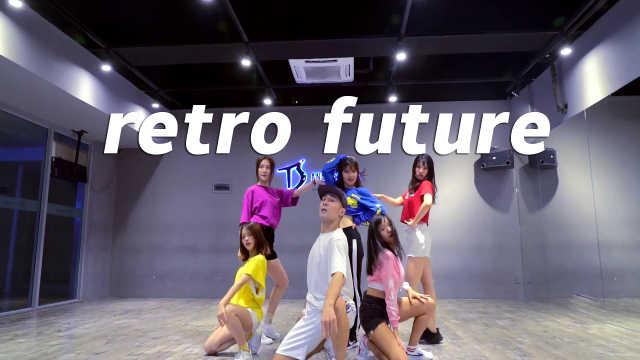 白小白老师翻跳《retro future》