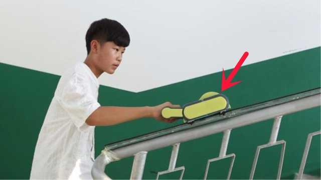 13岁少年发明上楼助力器,获金奖
