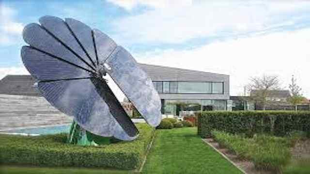一朵智能花,让你高效利用太阳能