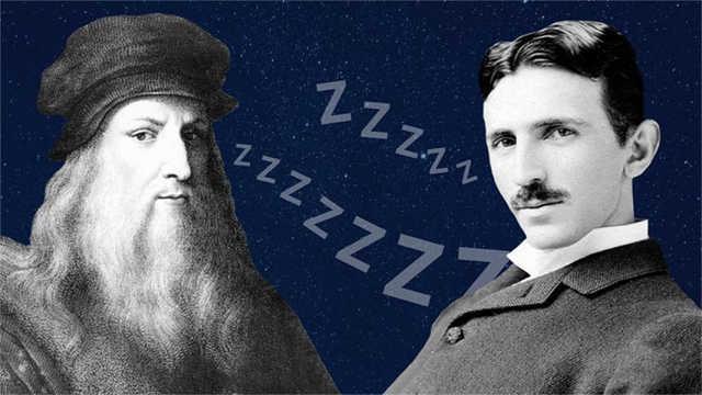 达芬奇推崇的睡眠法,你造吗?