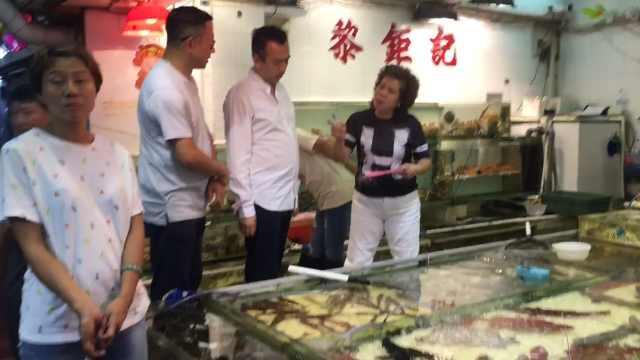 香港鲤鱼门海鲜街,吃下一整个海洋