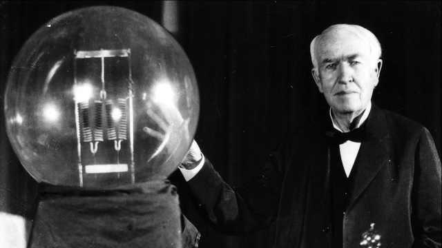 美国发明家爱迪生逝世87周年